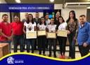 Câmara homenageia atletas corredoras da São Silvestre